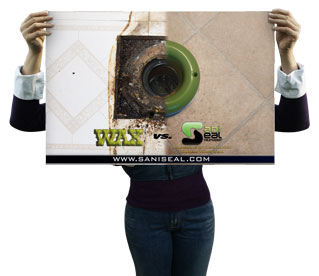 24x36 Sani Seal Poster